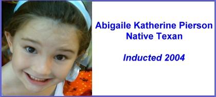 Abigaile-HOF-Plaque